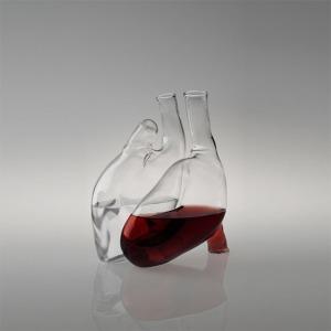 Human-Heart-Carafe designed by Liviana Osti