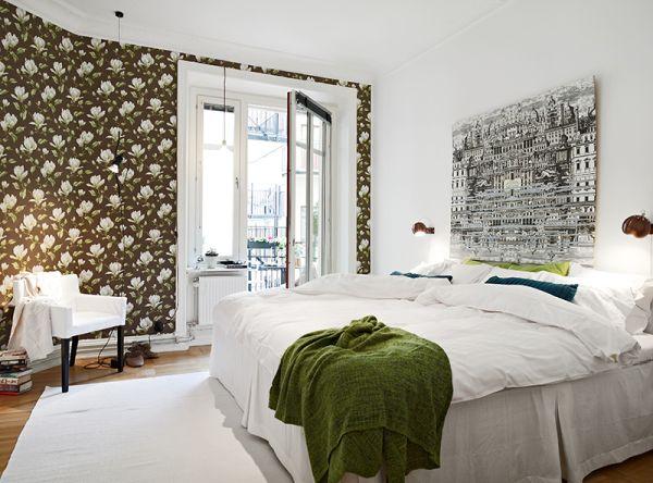 scandinavian style bedroom deco trending