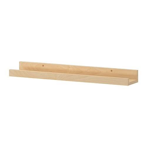 Scandinavian style bedroom deco trending for Ikea ribba plank