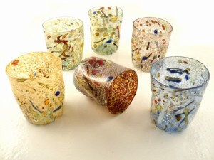 pollock glasses 42 USD murano store