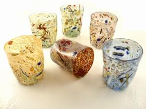 pollock glasses 42 USD murano store