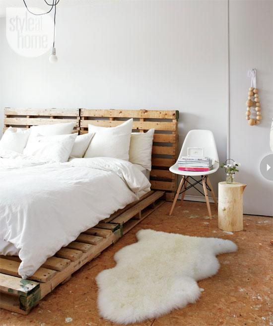 Scandinavian style bedroom deco trending for How to style my bedroom