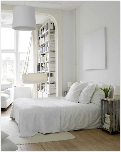 scandinavian style in the bedroom